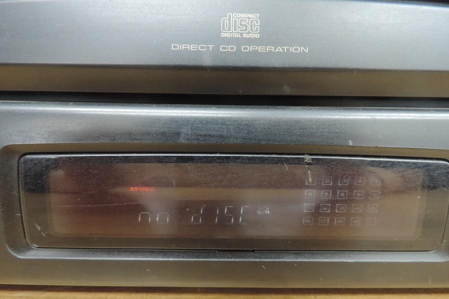 t6601◆PIONEER/パイオニア【CLD-K55G】レーザーディスクプレーヤー◆※ジャンク_画像9