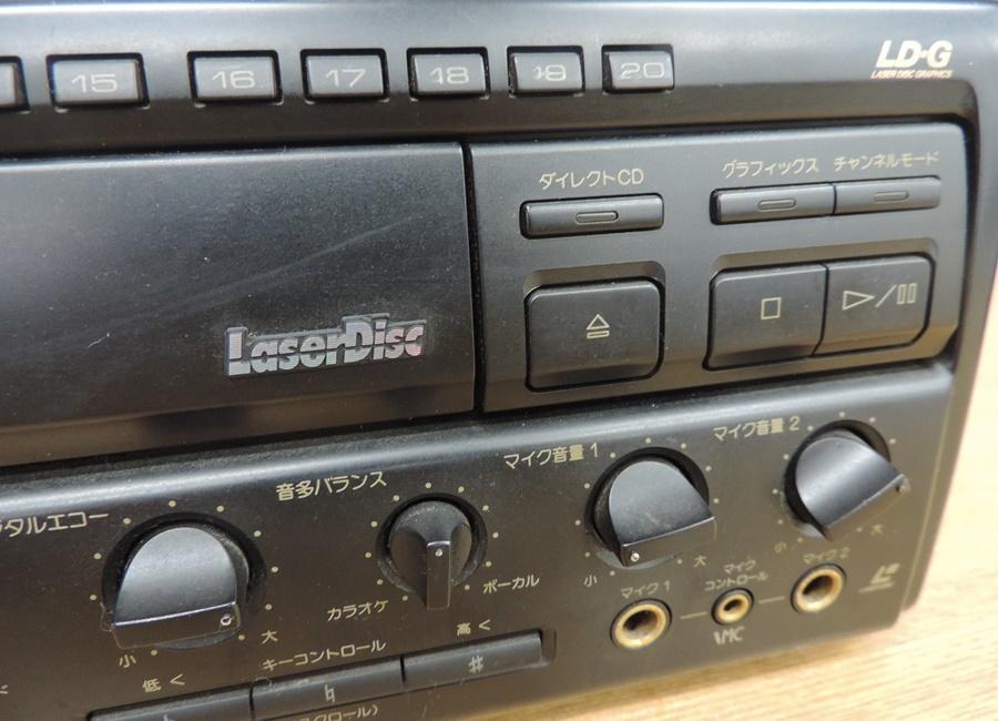 t6601◆PIONEER/パイオニア【CLD-K55G】レーザーディスクプレーヤー◆※ジャンク_画像6