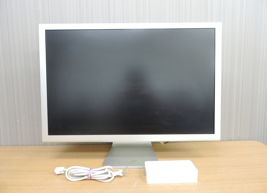t8122◆Apple Cinema HD Display【A1083】30インチフラットパネルモデル◆ジャンク品