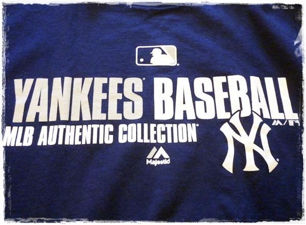 メンズ MLB 半袖 Tシャツ MLB NY Yankees ニューヨーク ヤンキース YankeesBASEBALL Majestic アメリカ 野球 メジャー L_画像2