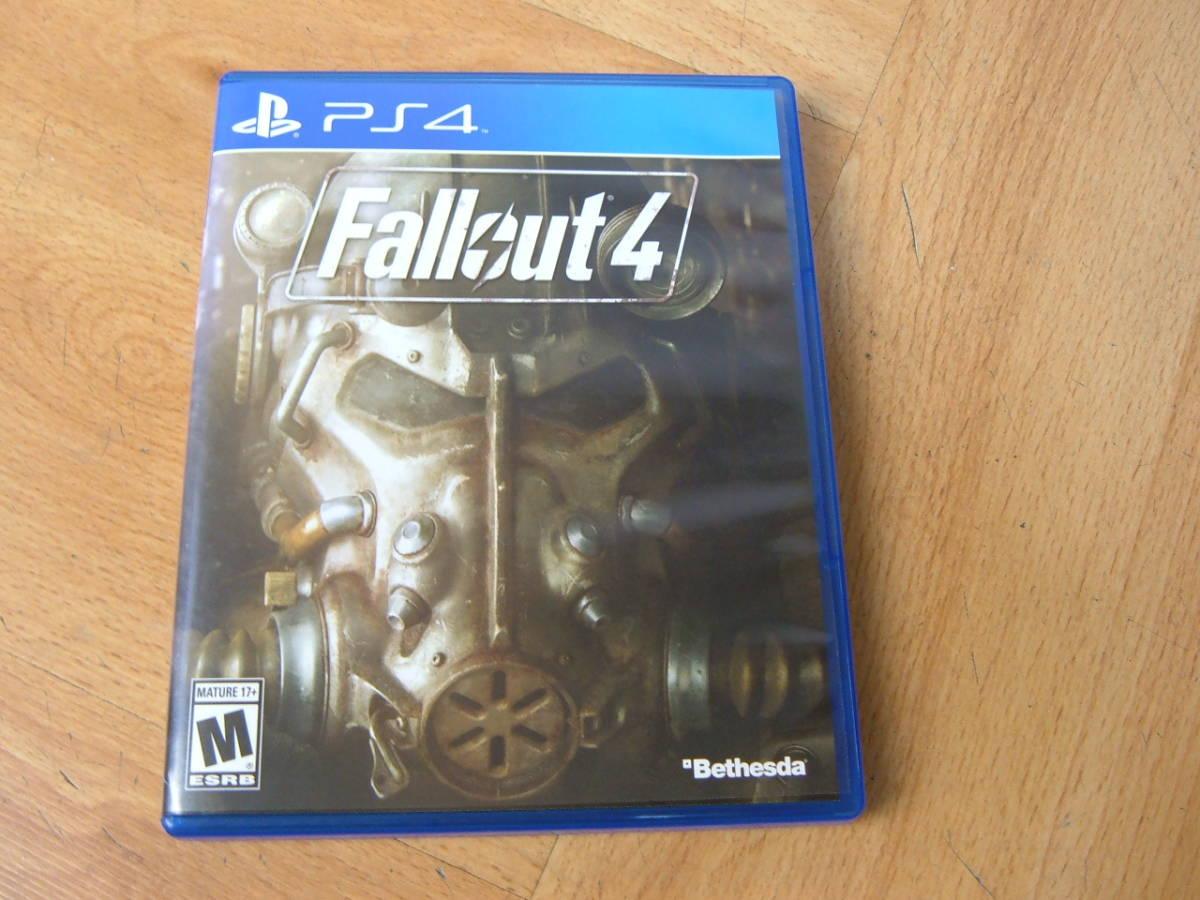 27 【美品】PS4 ファールアウト4 Fallout4 北米版
