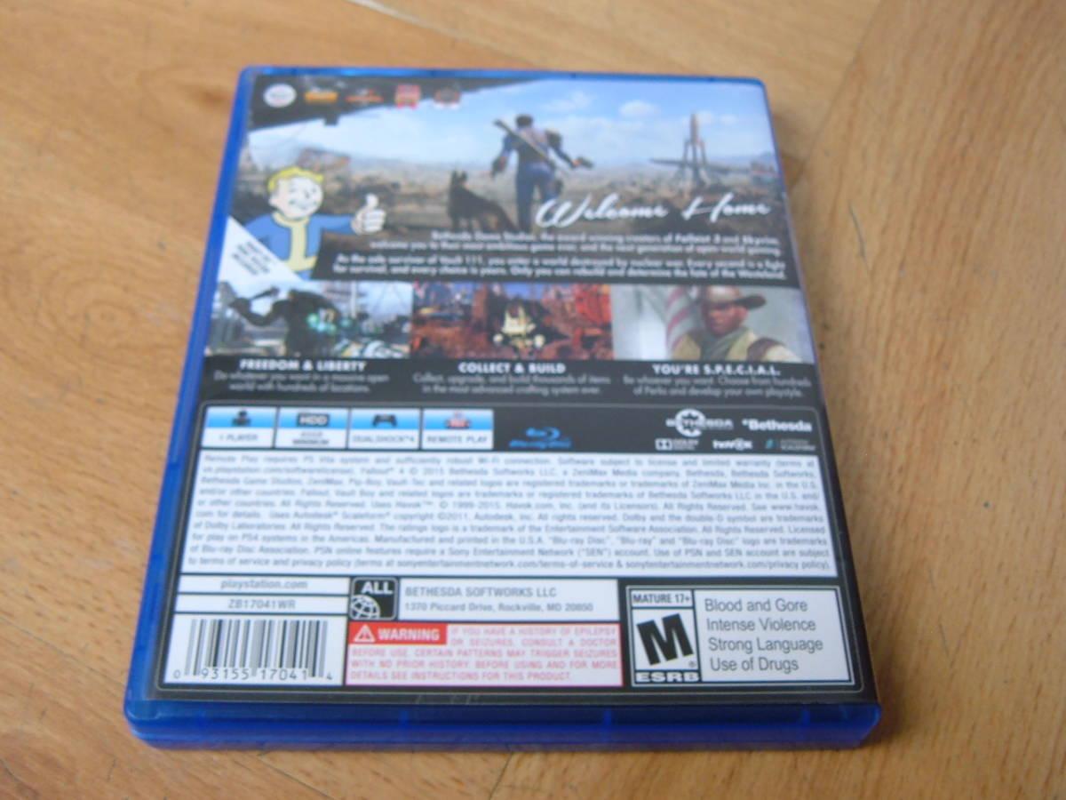 27 【美品】PS4 ファールアウト4 Fallout4 北米版_画像3