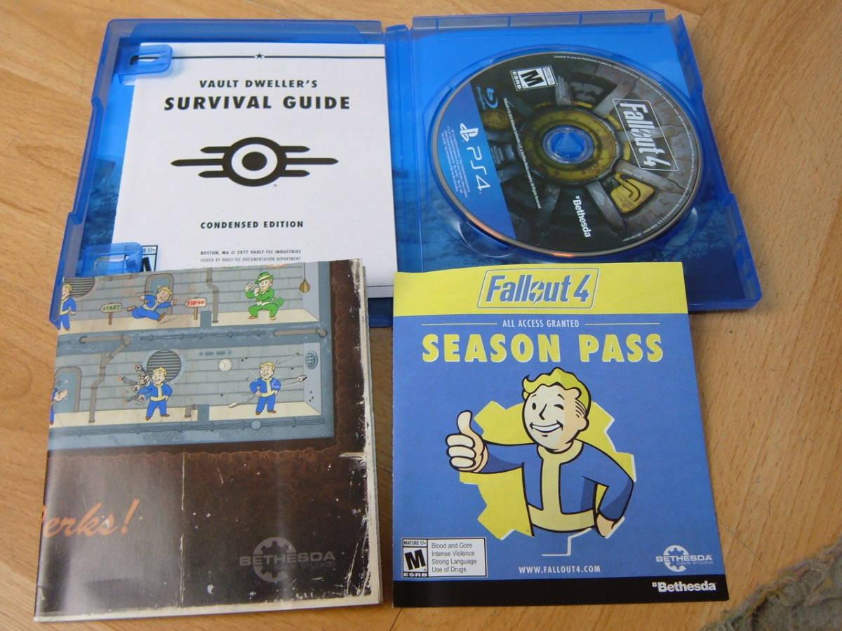 27 【美品】PS4 ファールアウト4 Fallout4 北米版_画像5