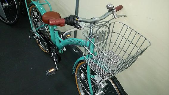 ☆アウトレット ジュニア自転車☆22インチ エメラルドグリーン系 シマノ製外装6段変速 LEDオートライト_画像3