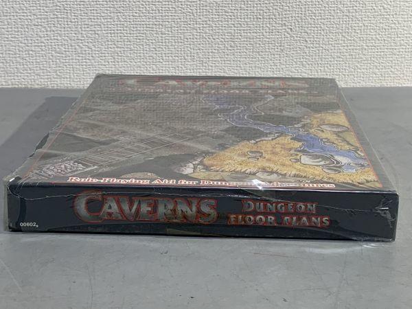 12#B2A/B052 未開封品 TRPG Games Workshop社1986年 CAVERNSフロア・プラン レア 検TRPG/メタルフィギュア/MF/AD&D 80サイズ_画像5