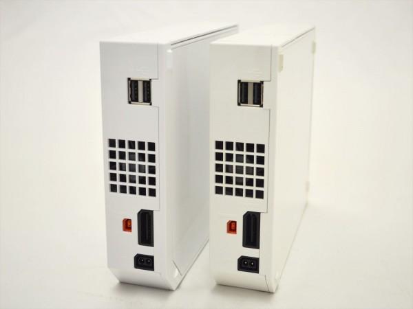 KM58●現状品まとめて!!●Nintendo Wii 本体 RVL-001セット 2点&Wii Fit +ソフト付き 欠品有_画像4