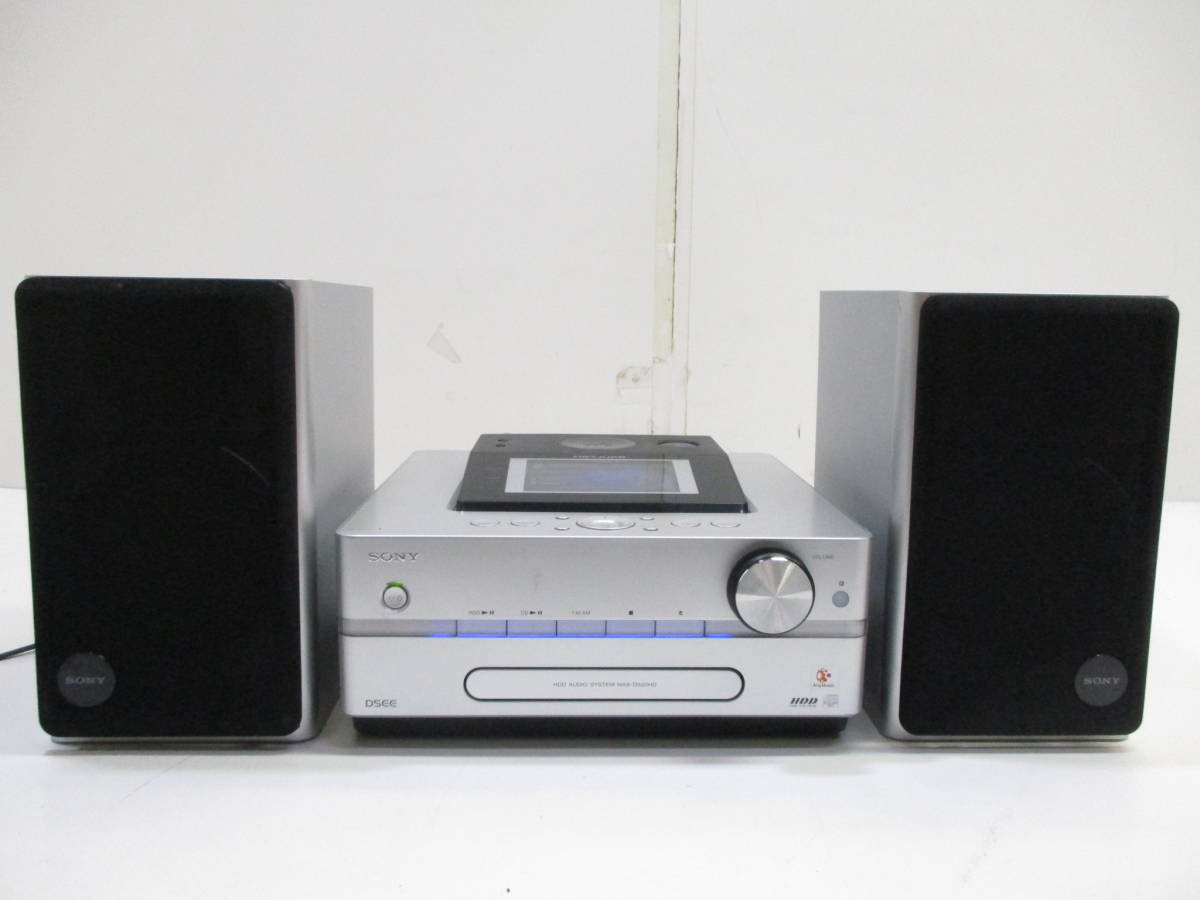 ☆HDD初期化済 SONYソニー HDD システムコンポ NET JUKE HCD-D500HD 1531C☆