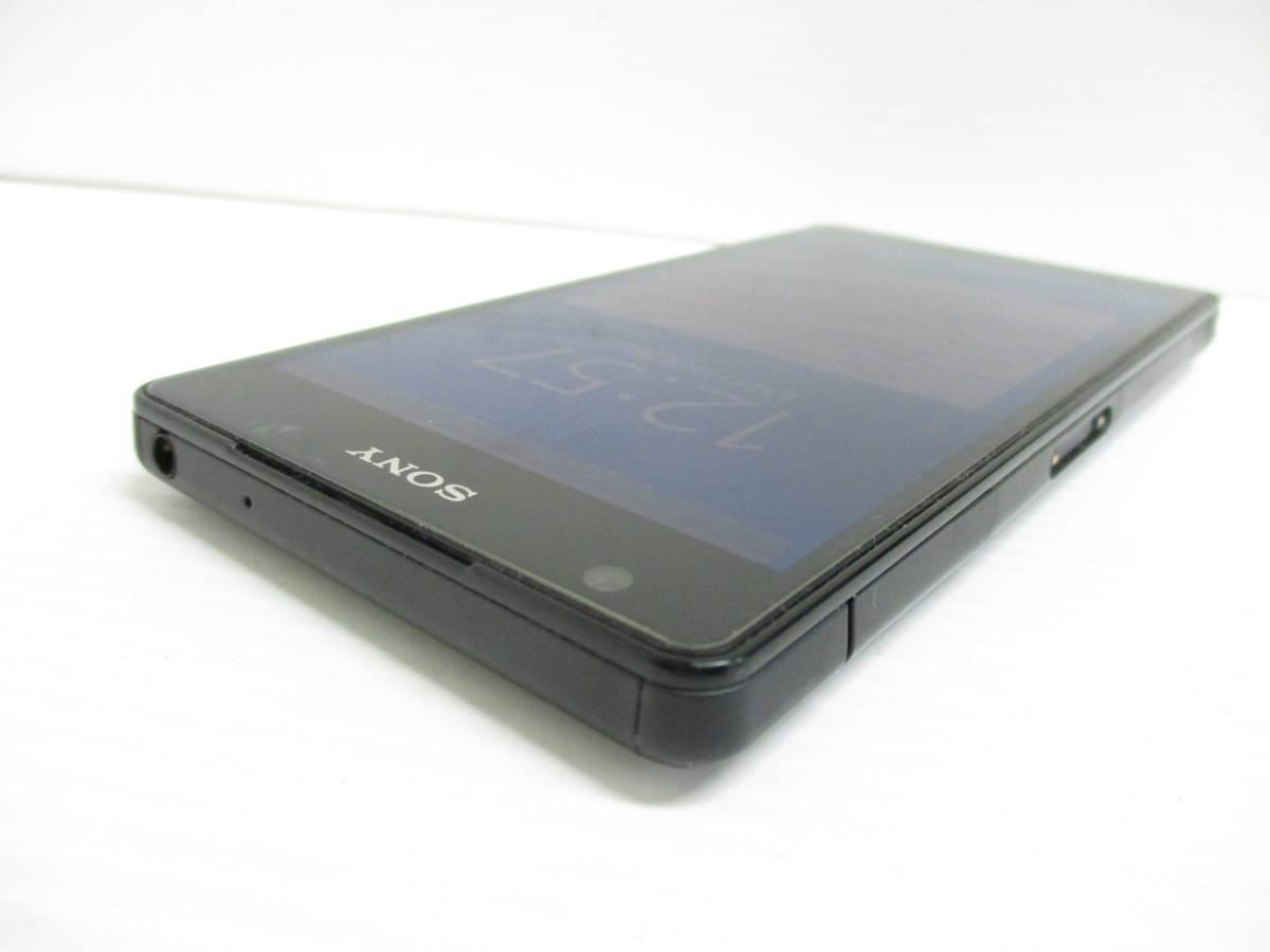 ジャンク 送料一律350円 au Sony Xperia ZL2 SOL25 ブラック H1020_画像4