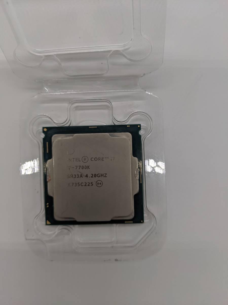 Intel CPU Core i7-7700K 4.2GHz 8Mキャッシュ 4コア/8スレッド LGA1151