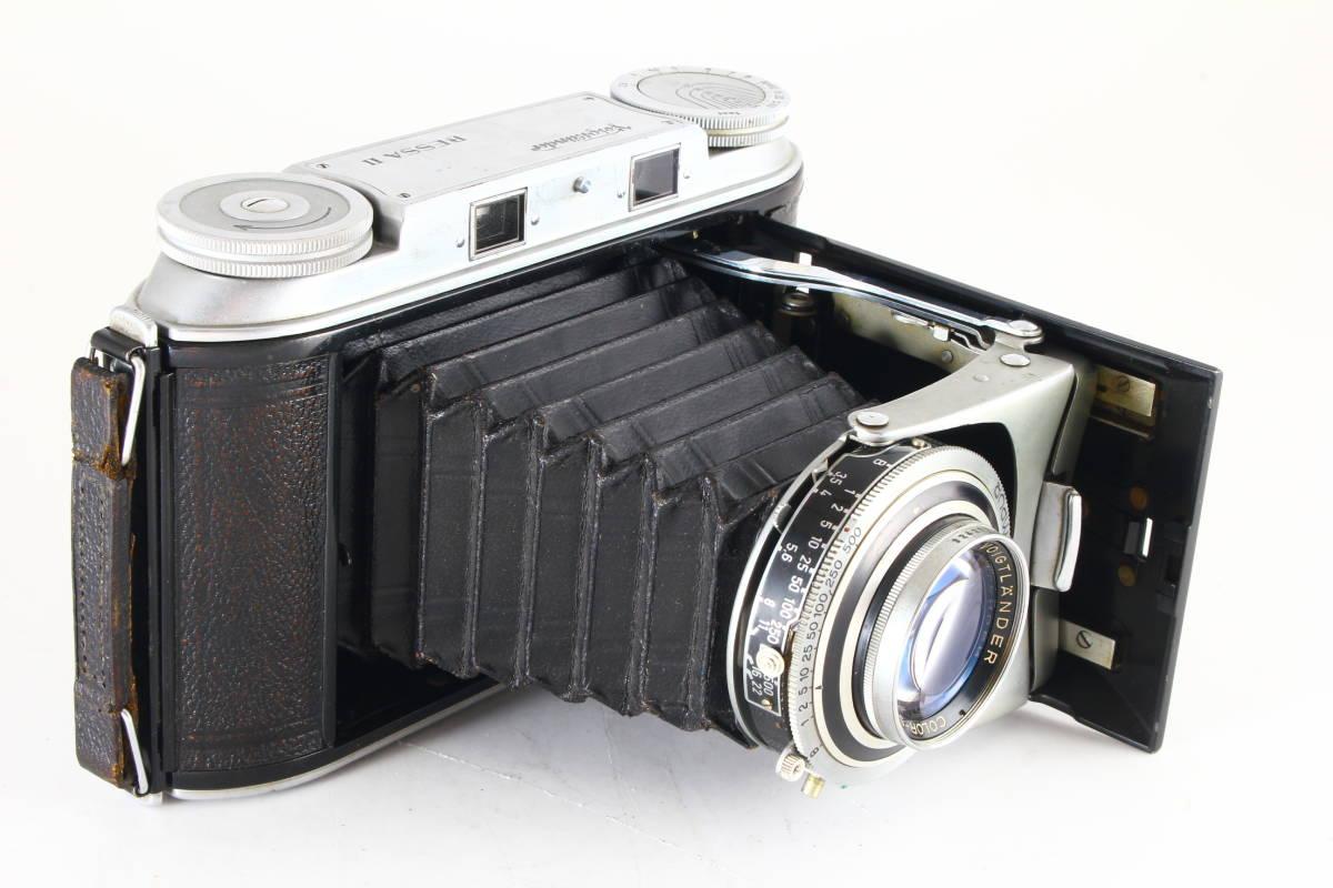 希少★極上級★Voigtlander BESSA II★COLOR-SKOPAR 105mm F3.5★絶好調★ベッサ★3455_画像5