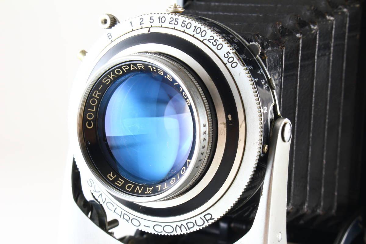 希少★極上級★Voigtlander BESSA II★COLOR-SKOPAR 105mm F3.5★絶好調★ベッサ★3455_画像2