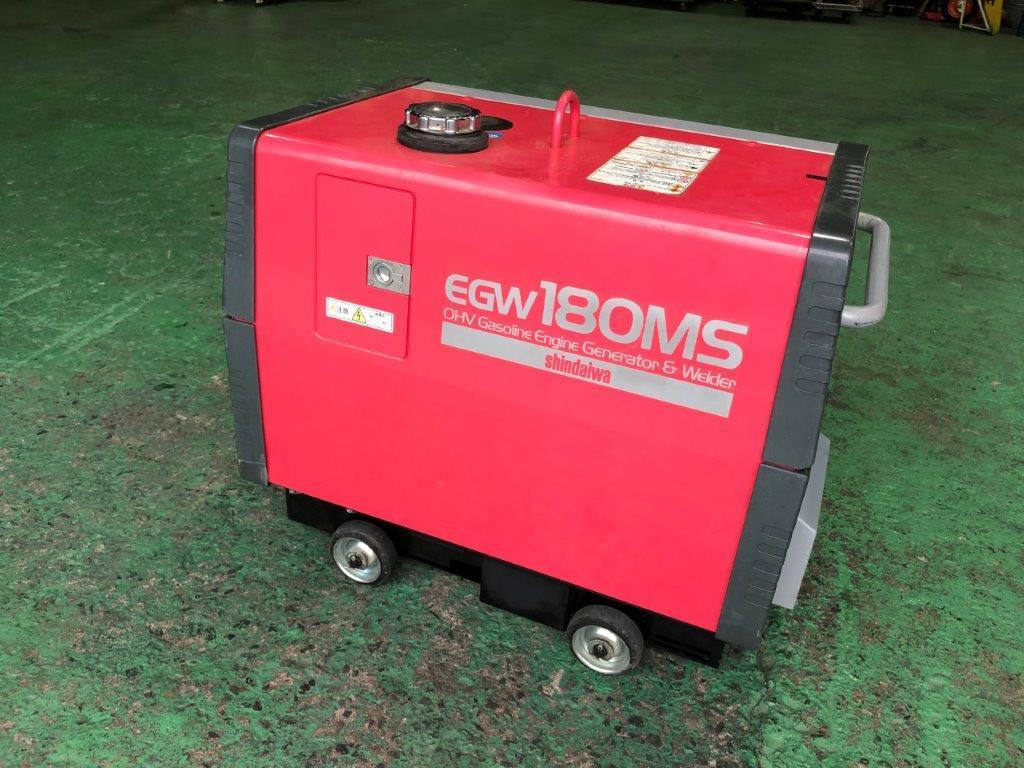 【売切】新ダイワ EGW180MS 防音型エンジン発電機・溶接機 機関良好♪ _画像5