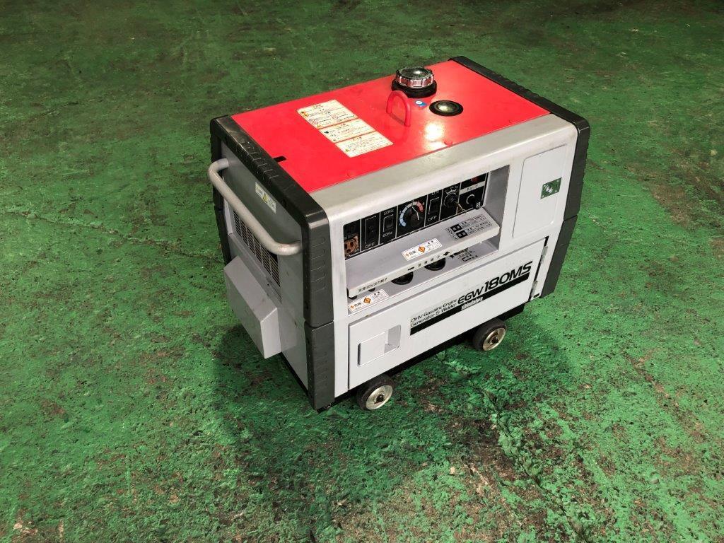 【売切】新ダイワ EGW180MS 防音型エンジン発電機・溶接機 機関良好♪ _画像4
