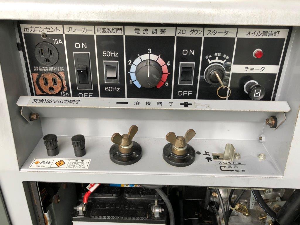 【売切】新ダイワ EGW180MS 防音型エンジン発電機・溶接機 機関良好♪ _画像8
