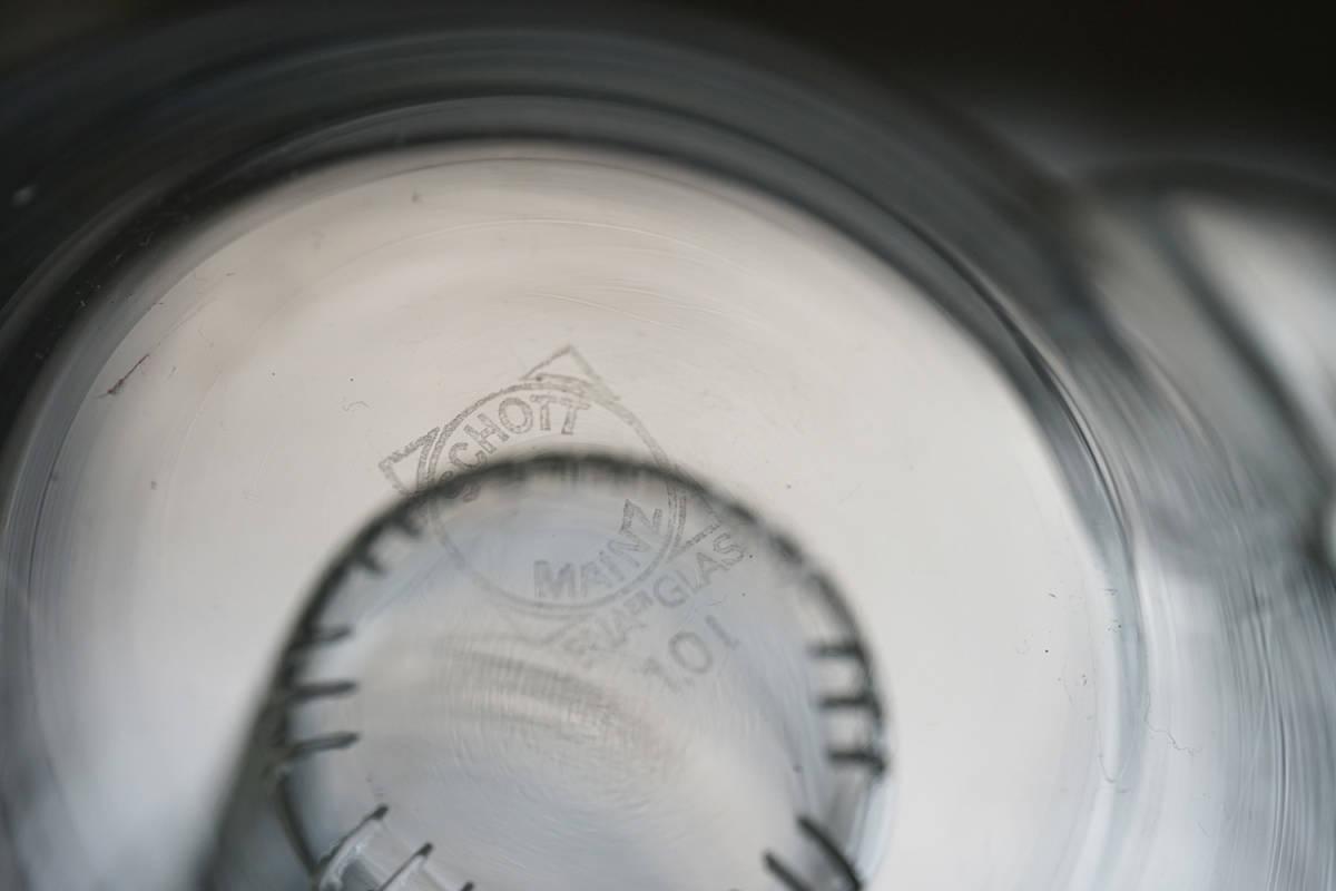 """イエナガラスのティーポット """"JENA GLAS"""" Tea Pot / 20th.C・Germany / アンティーク 古道具 硝子 ガラス バウハウス_画像9"""