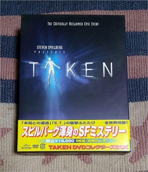 DVD「TAKEN テイクン DVDコレクターズBOX」6枚組 正規国内盤