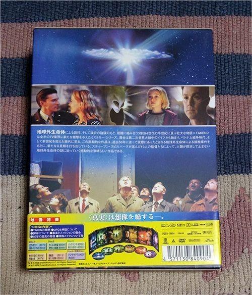 DVD「TAKEN テイクン DVDコレクターズBOX」6枚組 正規国内盤_画像2