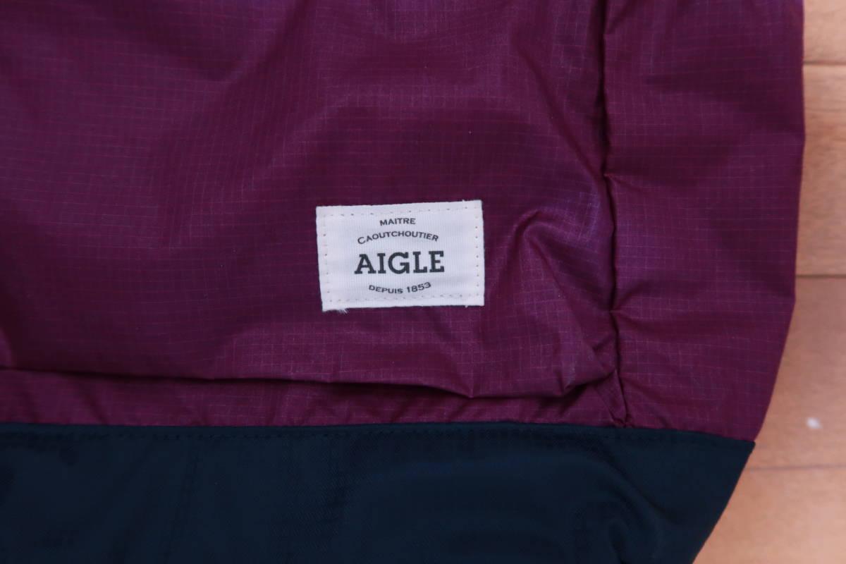 エーグル AIGLE 2way ナイロン トートバッグ_画像4