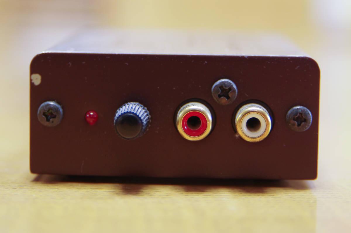 中古品:audio-technica フォノイコライザー AT-PEQ3_画像4