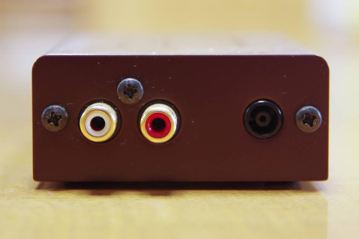中古品:audio-technica フォノイコライザー AT-PEQ3_画像5