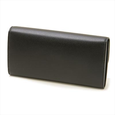 ■新品■Salvatore Ferragamo フェラガモ■VARAリボン長財布 22-D269 / ブラック■送料無料・即決_上質なカーフレザーのすっきりとした背面