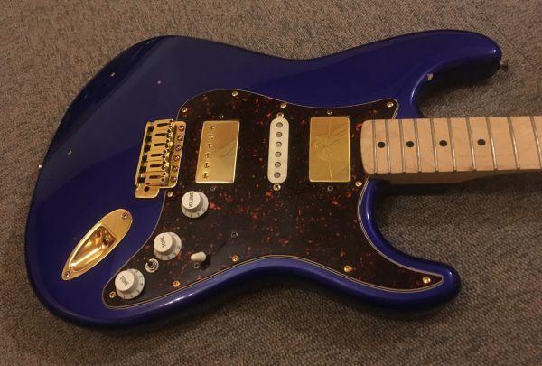 Squier スクワイヤ Affinity Stratocaster 改造品 モンスタートーンPU,GOTOHペグ_画像2
