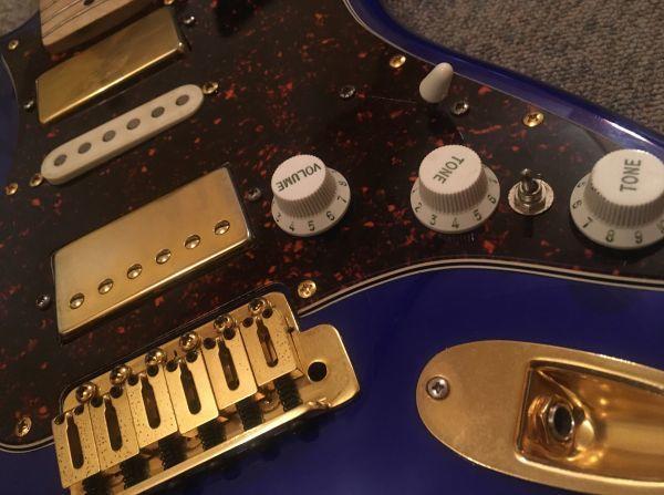 Squier スクワイヤ Affinity Stratocaster 改造品 モンスタートーンPU,GOTOHペグ_画像6