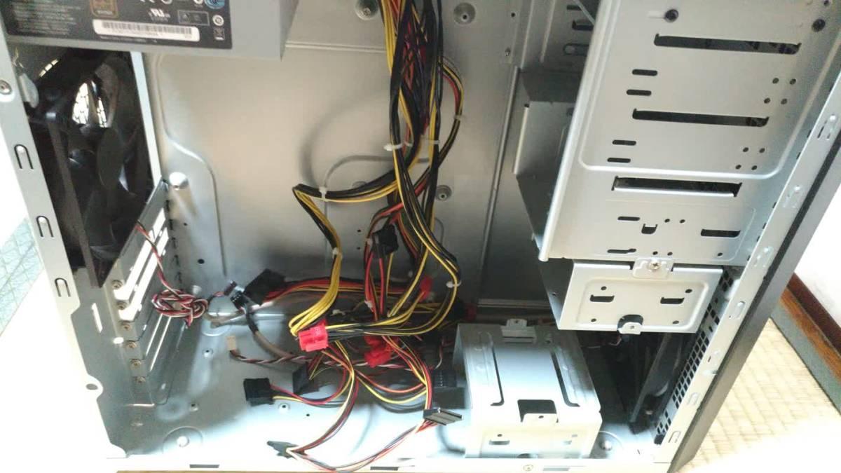 a59f829398 ドスパラ DOSPARA Diginos ATXケース DVDドライブ・電源ユニット・Win7Proプロダクトキーシール付き