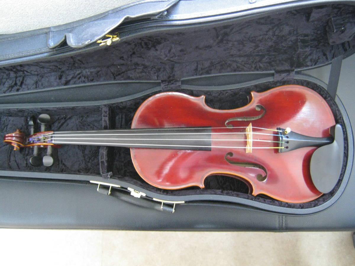 バイオリン◆J.T.L EL.MAESTRO Label◆フランス製モダンバイオリン_画像1