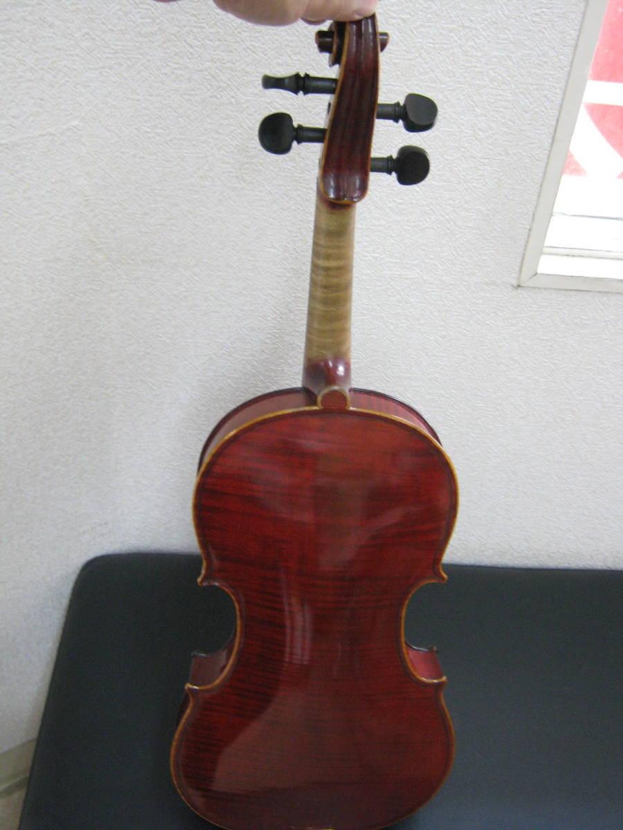バイオリン◆J.T.L EL.MAESTRO Label◆フランス製モダンバイオリン_画像3