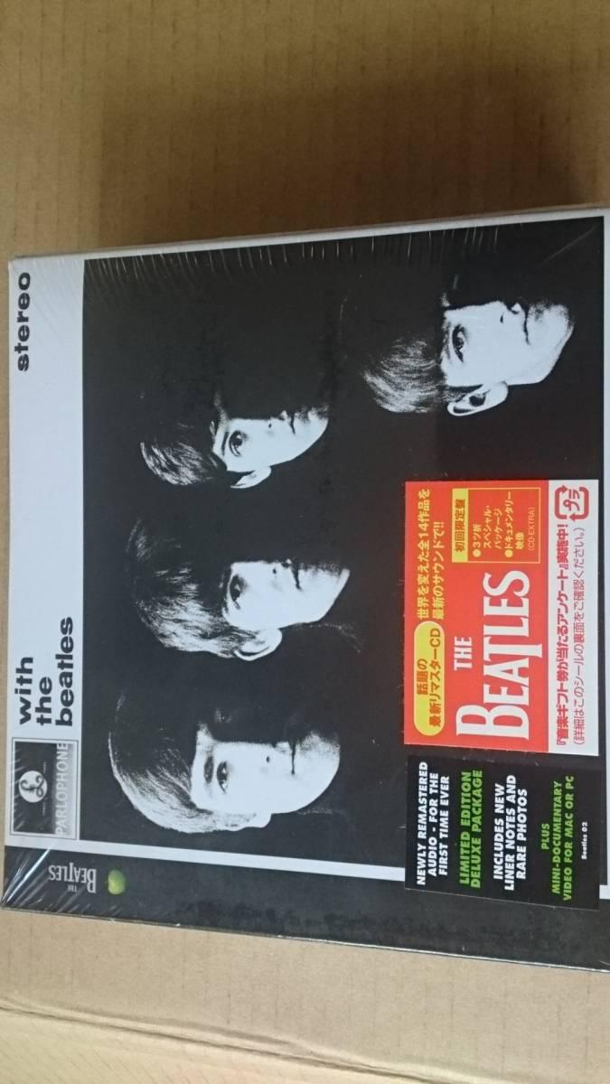 ビートルズ【with the beatles】UK盤 初回限定盤 新品未開封 CDHYR_画像1
