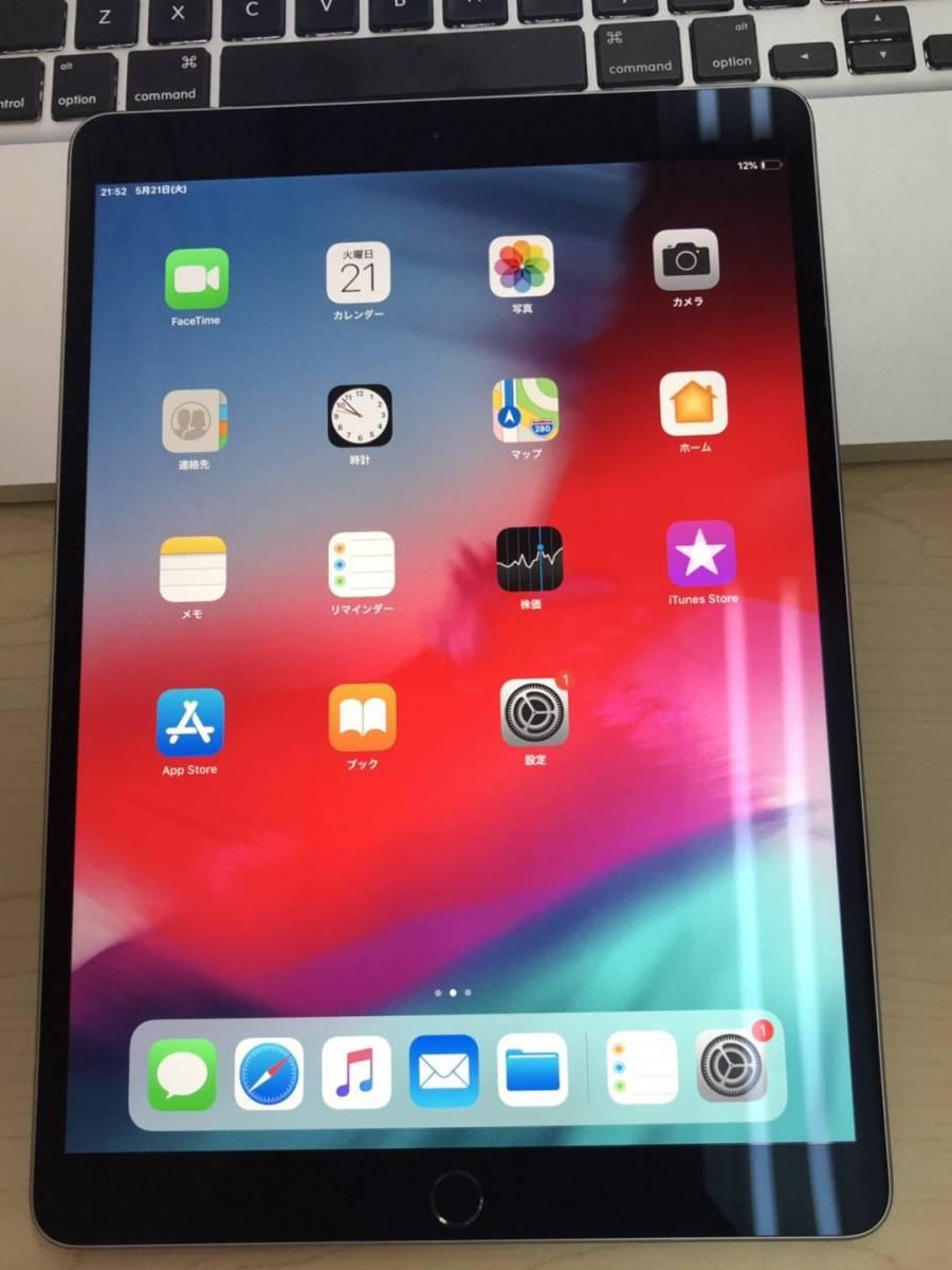 爆速発送 極美品 iPad Pro 10.5インチ Wi-Fiモデル 64GB スペースグレー MQDT2J/A