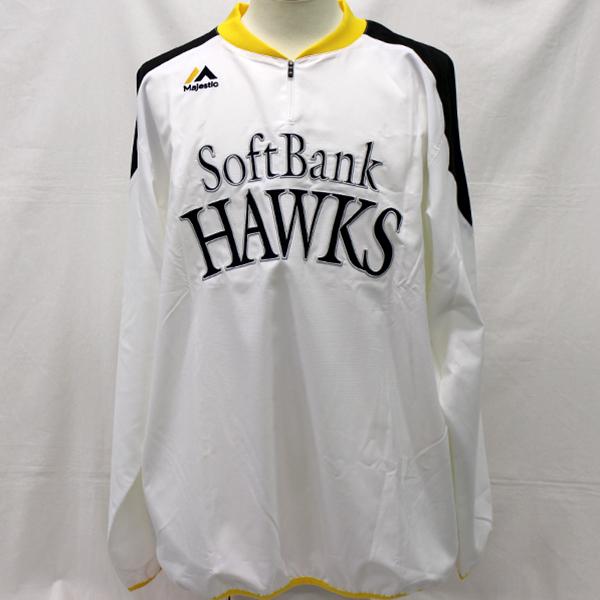 [ charity ] Fukuoka SoftBank Hawks safate. hand warm-up shirt ( Home long sleeve )