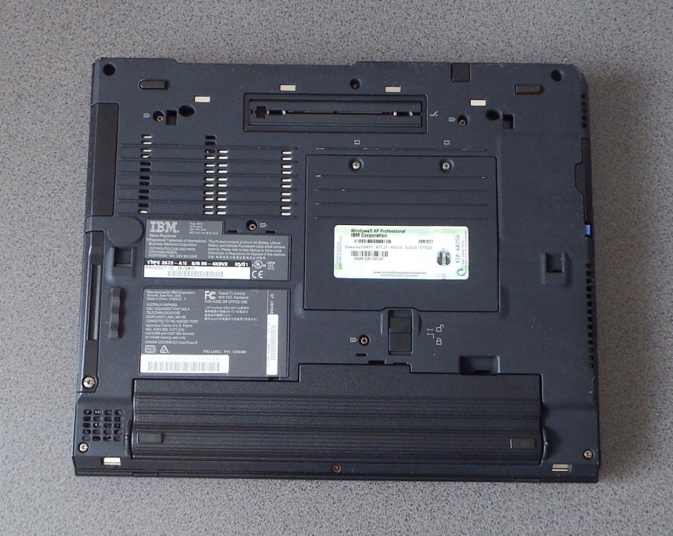 ThinkPad X31 TYPE 2672-A1I Windows XP Pro HDD新品 バックライト新品 美品_画像6