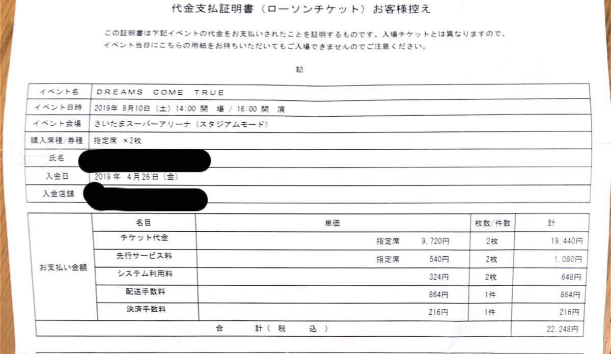 30周年★DREAMS COME TRUE WONDERLAND 2019★さいたま 8/10(土)ばら売りOK!