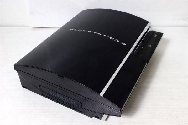 初期型 日本製 PS3 本体 CECHA00 60GB PS3/PS2作動