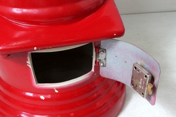 非売品/特大 郵便局 赤色 ポスト型 貯金箱 ゆうちょ 風水 ノベルティ 46cm_画像5