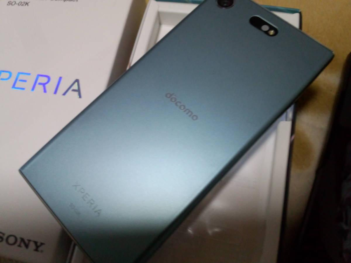 【極上美品】NTTドコモスマートフォン SO-02K ブルー 白ロム 送料510円~ お買い得! _画像3
