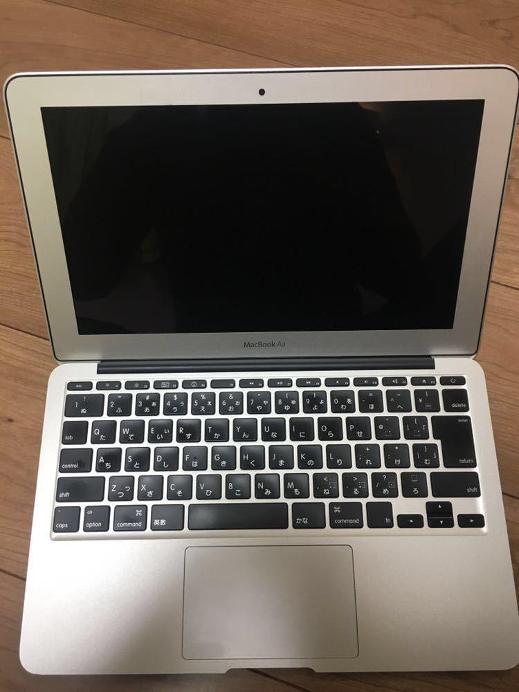 ★送料無料★美品&バッテリー新品 Apple MacBook Air Late2010 11.6インチ CPU Core 2 Duo 1.6GHz メモリ 4GB SSD 240GB_画像2