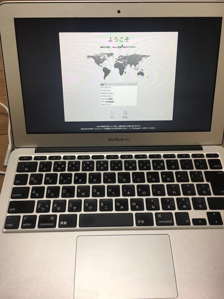 ★送料無料★美品&バッテリー新品 Apple MacBook Air Late2010 11.6インチ CPU Core 2 Duo 1.6GHz メモリ 4GB SSD 240GB_画像10