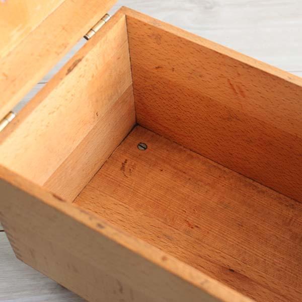 アメリカ製ビンテージ ESQUIRE SHOE VALET 木製シューケアボックス Q037_画像7