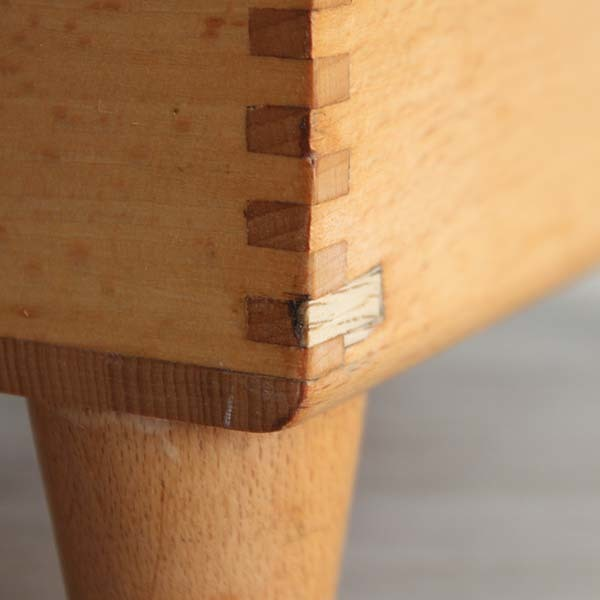 アメリカ製ビンテージ ESQUIRE SHOE VALET 木製シューケアボックス Q037_画像6