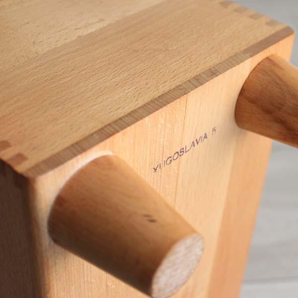 アメリカ製ビンテージ ESQUIRE SHOE VALET 木製シューケアボックス Q037_画像8