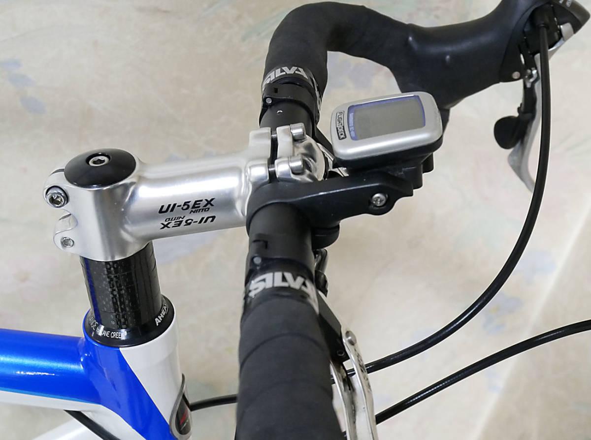 ANCHOR アンカー(ほぼ綺麗)RCS 5(シマノ 105 27速)700C ホワイトとブルーのRoad Bikes 中古_画像7