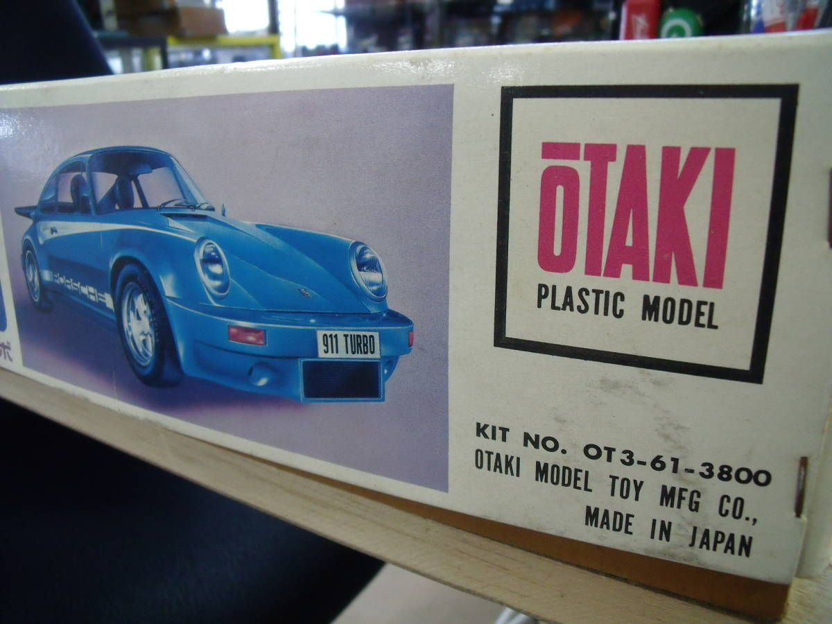 ☆オオタキ 1/12 Porsche ポルシェ 911 ターボ デスプレイ DISPLAY_画像10