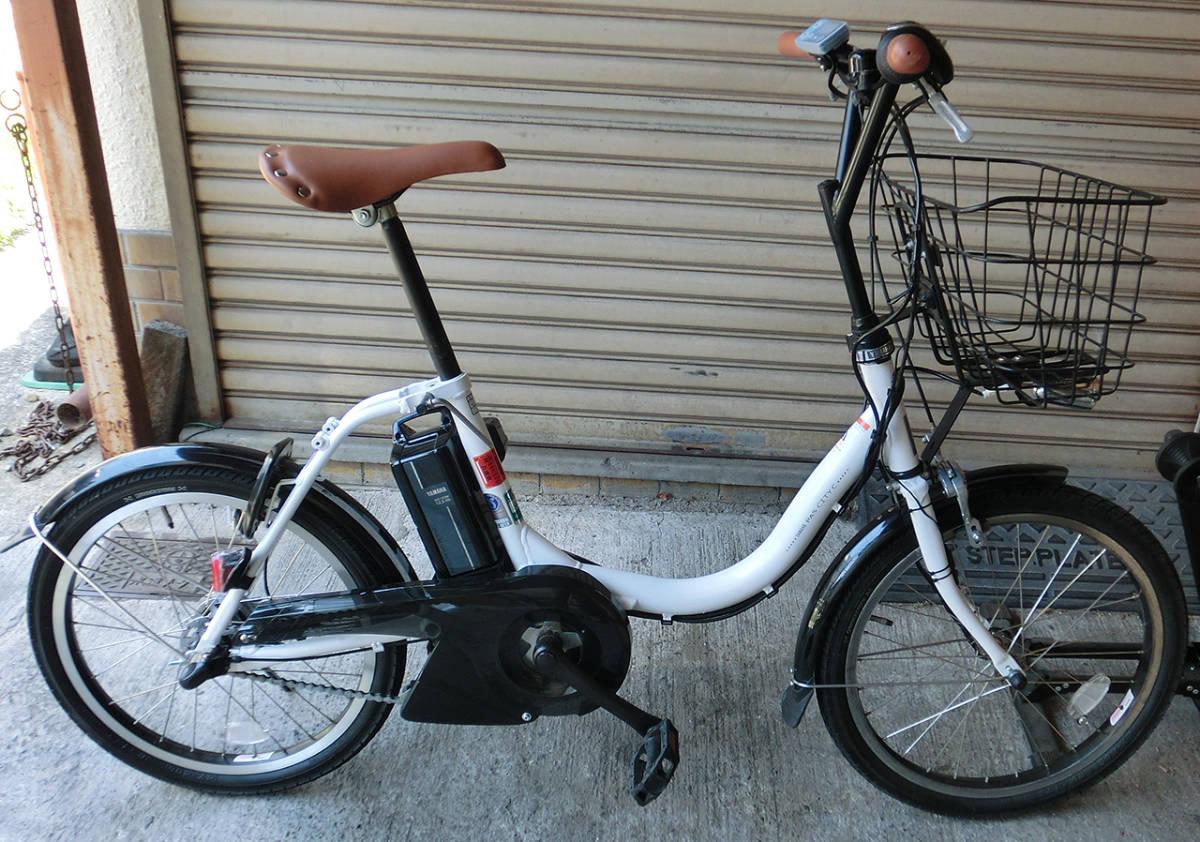 ★超改速アシスト ヤマハ PAS CITY-C 20インチ バッテリー12.3Ah リミッターカット カスタム改造電動自転車 2018年モデル
