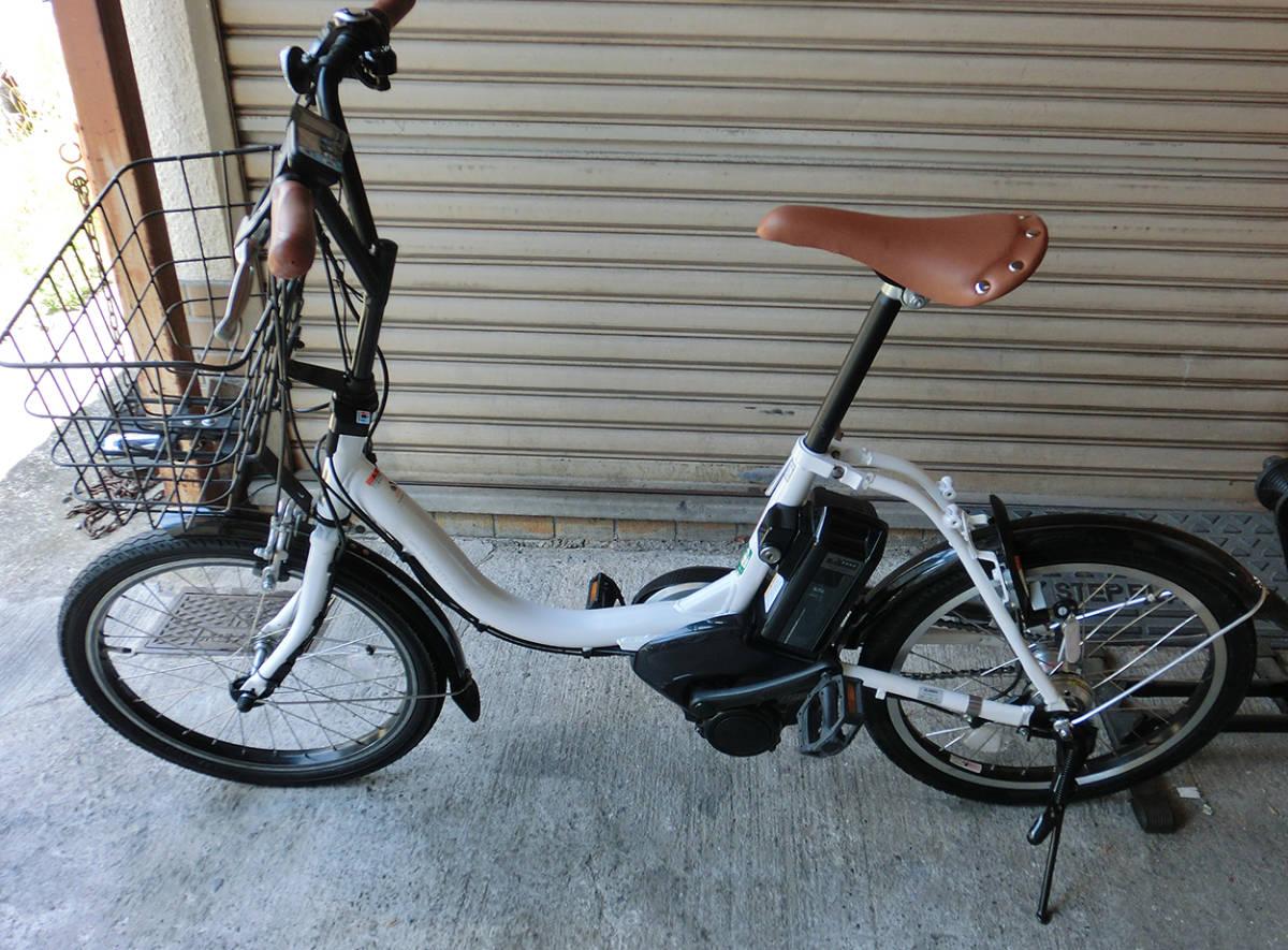 ★超改速アシスト ヤマハ PAS CITY-C 20インチ バッテリー12.3Ah リミッターカット カスタム改造電動自転車 2018年モデル_画像2