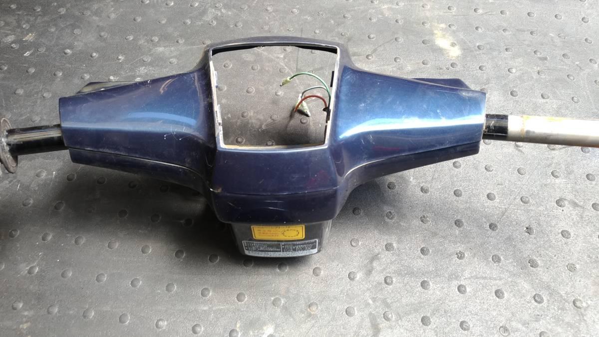 ホンダ スーパーカブ50 カスタム C50 角目 純正 外装セット カバー メーター周り テール フロントフェンダー ハンドル_画像7