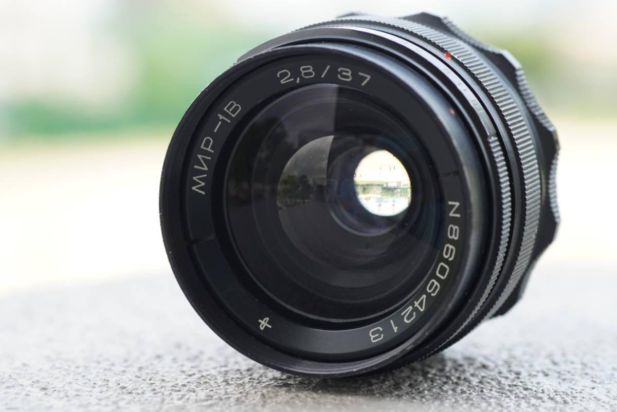 美品 MIR-1B 37mm f2.8 M42 Flektogon オールドレンズ 単焦點 検) α7 II Ⅲ rⅢ ソニー takumar l39 Helios-44 ② 拍賣