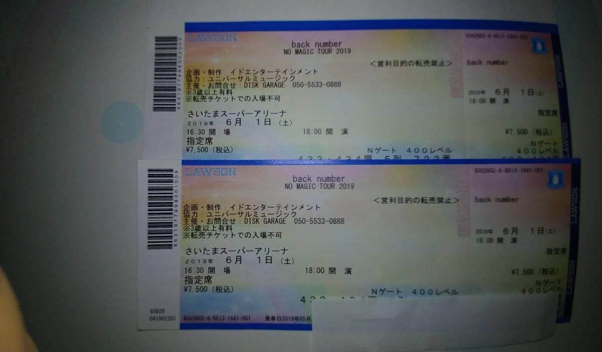 back number さいたまスーパーアリーナ6月1日(土)_画像2